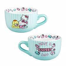 Add to compare compare now. Universal Studios Hello Kitty Have A Sweet Day Latte Mug New Walmart Com Walmart Com
