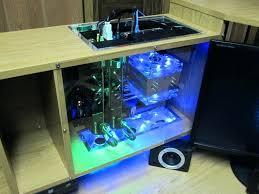 custom built computer desks custom built pc gaming desk