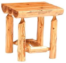 half log coffee table end tables cabin style with glass top diy birch tree cabi log coffee table