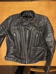 men s xl vintage leather motorcycle jacket