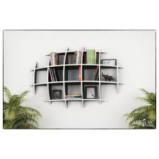 Oval Floating Shelves Best Oval Floating Book Shelf Kcommie Store