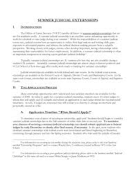 Cover Letter For Externship Resume Examples Templates Judicial