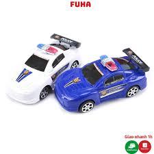 Mô hình xe ôtô cảnh sát đồ chơi cho bé tại Hà Nội