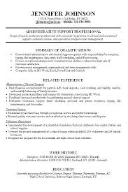 Resume Templates For Experienced Professionals Experienced