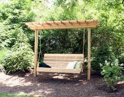Small Picture 50 best Garden Swing Canopy Designs Teak Veranda Porch