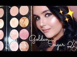 makeup revolution golden sugar 2 rose gold palette review and swatches