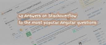 Ngx Charts Stackblitz 48 Answers On Stackoverflow To The Most Popular Angular