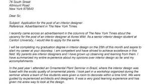 Designers Cover Letter Interior Designer Cover Letter Brilliant Save Btsa Co Within Design