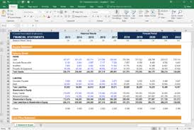 Financial Template For Excel Financial Model Templates Download Over 200 Free Excel Templates