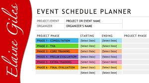 Schedule Word Microsoft Word 2013 Schedule Template