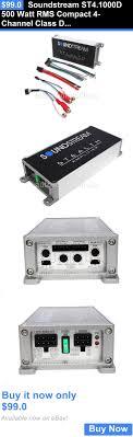 17 beste ideer om car audio amplifier på car amplifiers soundstream st4 1000d 500 watt rms compact 4 channel class d