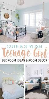 stylish teenage girl bedroom ideas