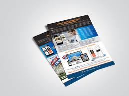 Flyer Design App Mobile App Flyer Design By Md Shamim Hossain On Dribbble