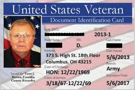 Ohio Thanking Program Veterans Public With Id Card News Counties Service