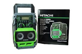 hitachi ur18dsl. radio budowlane (odbiornik radiowy) - hitachi ur18dsl hitachi ur18dsl