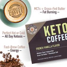 Go ahead and dunk your breakfast donut — or enjoy after. Rapid Fire French Vanilla Keto Coffee Pods 12 Ct Walmart Com Walmart Com
