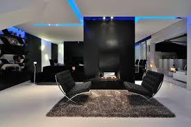 Modernes Wohnzimmer Schwarz Weiß Bemerkenswert On Modern Auf Moderne 54  Bilder Und Ideen Für Einrichtung 6
