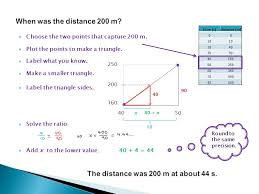 a quick how-to) Wendi Morrison  Start with data, not necessarily linear.  Time (s)Distance (m) Distance. - ppt download
