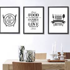 food quote canvas art print poster wall pictures for home decoration giclee wall decor on wall art pictures of food with food quote canvas art print poster wall pictures for home