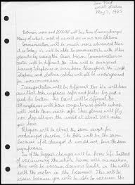 highland jr high school class of time capsule essay page 1