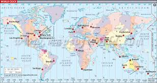World Clock Map In 2019 Time Zone Map World Time Zones World
