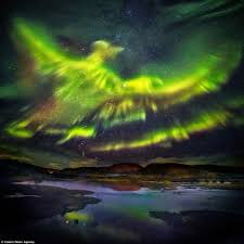 Northern Lights How Are They Created Northern Lights Captured In The Form Of The Legendary