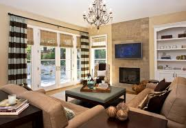 Delightful French Door Curtains decorating ideas for Family Room