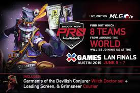events major league gaming