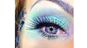 fantasy fairy or mermaid makeup tutorial halloween festival you