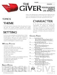 createdforlearning s shop teaching resources tes giver essay and speech persuasive