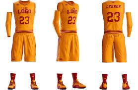 Basketball Jersey Design Template Psd Basketball Uniform Photoshop Template Mockup Basketball
