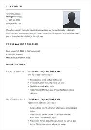 basic format of a resume free simple resume templates basic template 51 samples examples