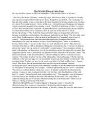 the fall of the house of usher essay gcse english marked by page 1 zoom in