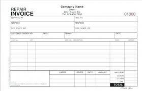 repair invoice template hvac invoice forms service invoice template free invoice template