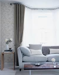 Square Bay Window Curtain Ideas