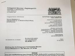 Sehr geehrte damen und herren, Announced Done Foundation Within 16 Days German Mittelstand