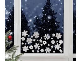 Infactory Fensterbilder 3d Gel Glitzer Fenstersticker Im