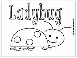 Lady Bug Coloring Sheet Little Bugs Coloring Pages For Kids Easy Peasy And Fun