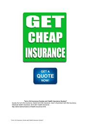 term life insurance quotes and health insurance quotes by tifani6301 issuu