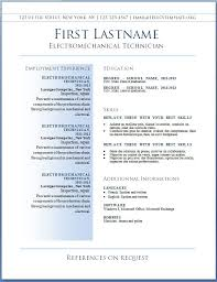 Bistrun Resume Formats For Word Physic Minimalistics Co Best