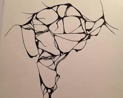 abstract drawing abstract drawing etsy