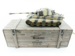 <b>Радиоуправляемый танк Torro</b> King Tiger (башня Henschel) 1/16 ...