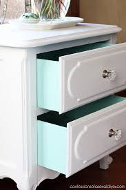 white furniture paintwwwpinterestcommicapica micapica French Provincial Night Table