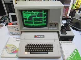 apple 2gs. apple ][ europlus with a monitor iii 2gs t