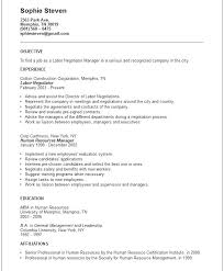 Perfect Objective For Resume Labor Negotiator Resume Example General ...