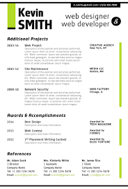 Web Designer CV Sample Example Job Description Career History. Web ...