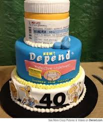 Awesome 40th Birthday Cake