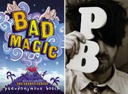 pseudonymous bosch real name. bookshop santa cruz is beyond excited to welcome the hilarious, quirky pseudonymous bosch for a reading and signing of bad magic, first installment in real name