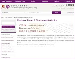 home how to theses dissertations libguides at the  image of cuhk electronic theses dissertations collection