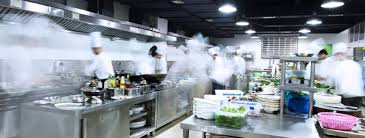 Restaurant kitchen Messy How To Choose The Best Modern Kitchen Lighting For Large Kitchens The Balance Small Business The Best Modern Kitchen Lighting For Commercia Kitchens